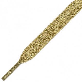 Goldene & silberne Schnürsenkel
