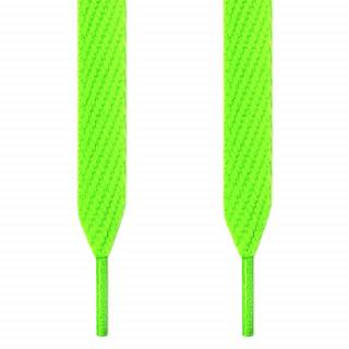 Extrabreite neon-grüne Schnürsenkel