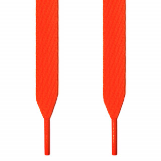 Extrabreite neon-orangene Schnürsenkel