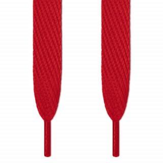 Superbreite rote Schnürsenkel
