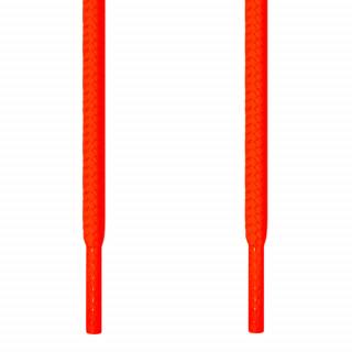 Runde, neon-orangene Schnürsenkel