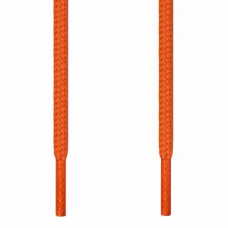 Runde, orangene Schnürsenkel