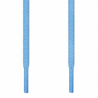 Runde, hellblaue Schnürsenkel