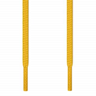 Runde, gelbe Schnürsenkel