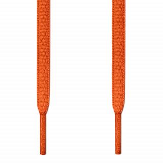 Ovale, orangene Schnürsenkel