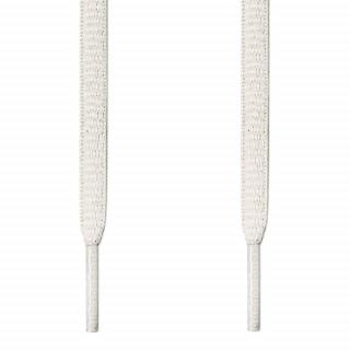 Ovale, weiße Schnürsenkel