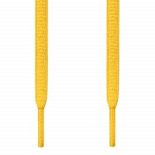 Ovale, gelbe Schnürsenkel