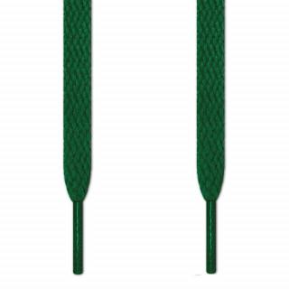 Flache, grüne Schnürsenkel
