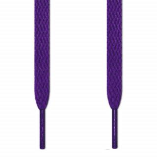 Flache, violette Schnürsenkel
