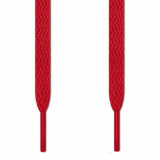 Flache, rote Schnürsenkel